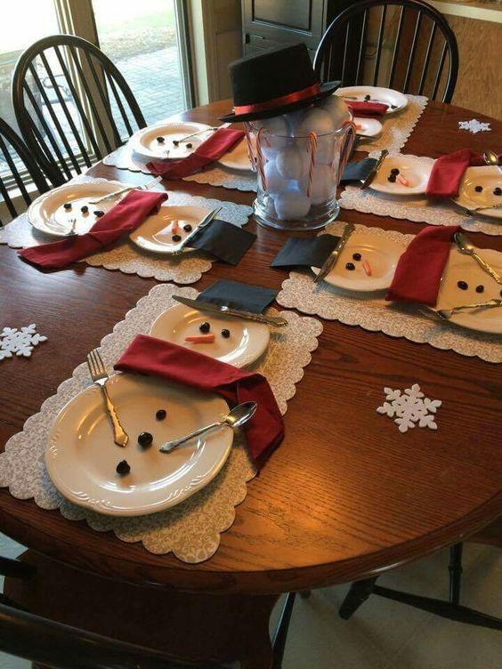 ideas de pinterest decora tu mesa para la cena de navidad
